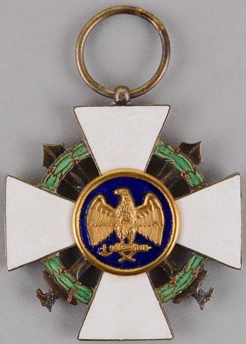 Аверс и реверс Ордена Римского орла с мечами II-го типа
