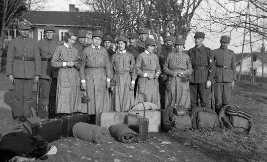 Фото перед отправкой на фронт. 1941 г.