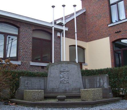 Муниципалитет Bierset. Памятник жертвам войны 1940-1945 годов.