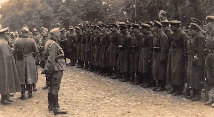 Церемония вывода немецких войск. Брест. 22 сентября 1939 г.