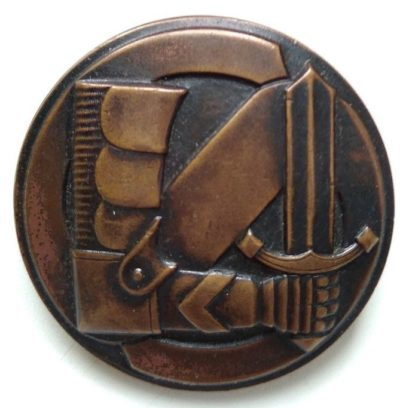 Бронзовый знак «За заслуги» Шюцкора 3-го класса.