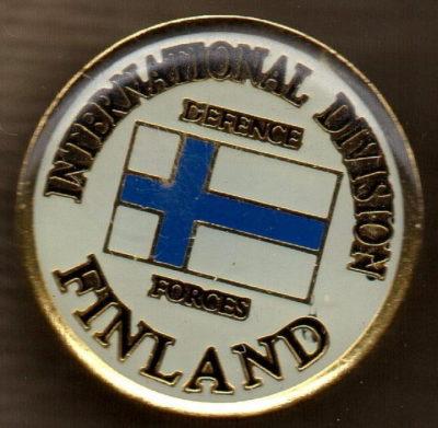 Знак Международного союза обороны Финляндии.