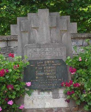 Муниципалитет Winamplanche. Памятник погибшим во Второй мировой войне.