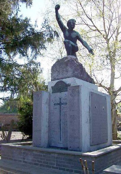 Муниципалитет Lamine. Военный мемориал двух войн.