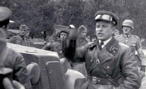Советские и немецкие солдаты в Перемышле. Сентябрь 1939 г.