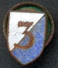 Знак 3-й пехотной бригады.
