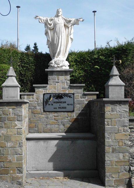 Муниципалитет Bra-sup-lienne. Памятник погибшим воинам обеих войн.
