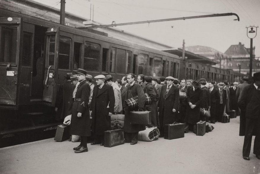 Депортация евреев. 1941 г.