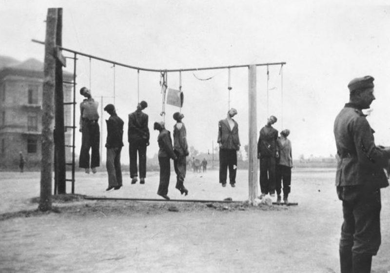 Казни продолжаются. 18 октября 1941 г.