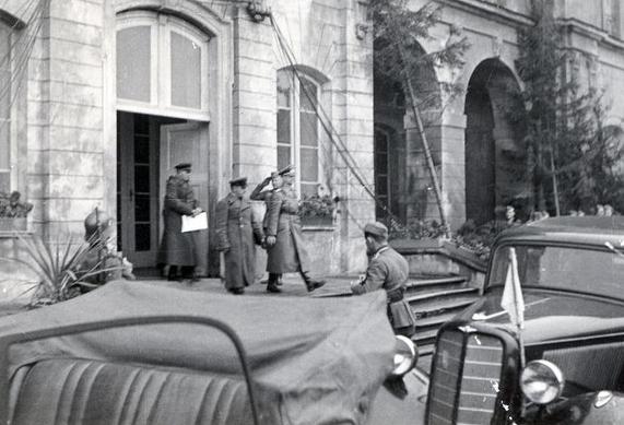 Советские и немецкие войска в Белостоке. Сентябрь 1939 г.