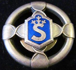 Знак Шюцкора «За лыжную подготовку 1-го класса».