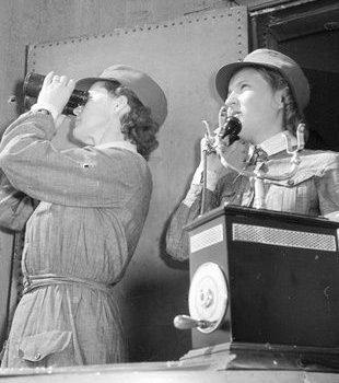 Воздушные наблюдательницы из «Lotta Svärd». 1941 г.