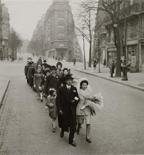 Свадьба на Монмартре. 1942 г.