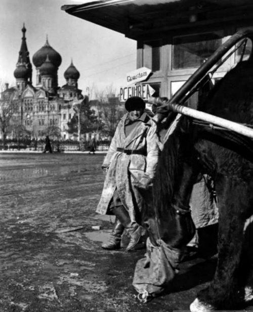 Куликово поле. При немцах – площадь Освобождения. Январь 1942 г.