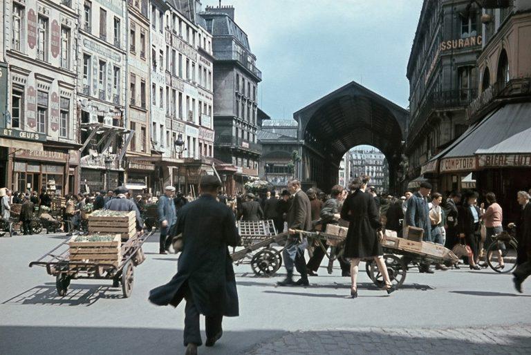 Центральный продовольственный рынок Ле-Аль. Осень 1942 г.