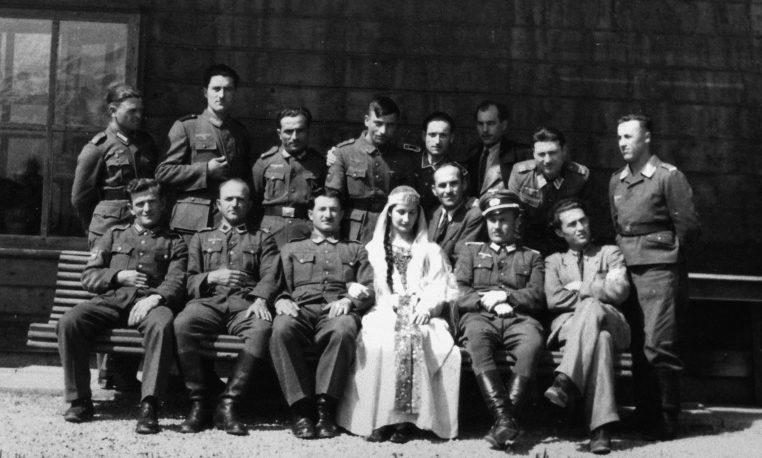 Свадьба грузинских хиви. 1943 г.
