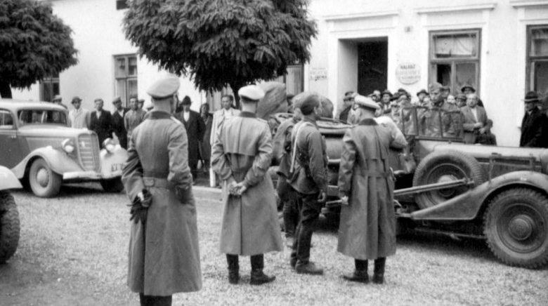 Встреча советских и германских войск в Стрыю. Сентябрь 1939 г.