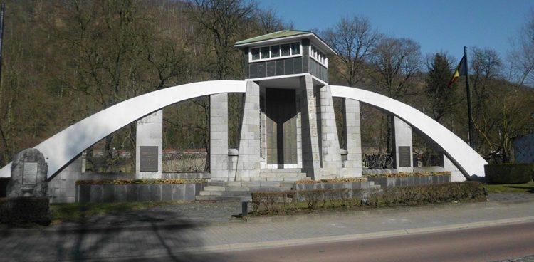 Муниципалитет Шофонтен (Chaudfontaine). Национальный памятник «Шталаг 1А».