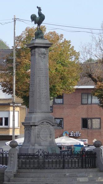 г. Лимбург. Памятник жертвам обеих войн.