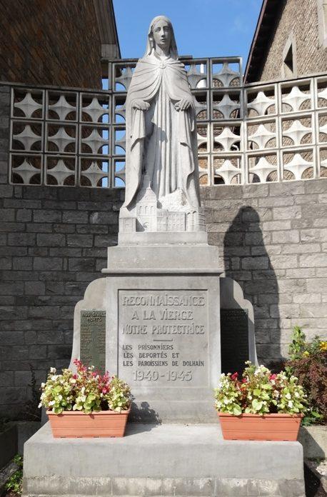 г. Лимбург. Памятник прихода в память жертв 1940-1945 годов.