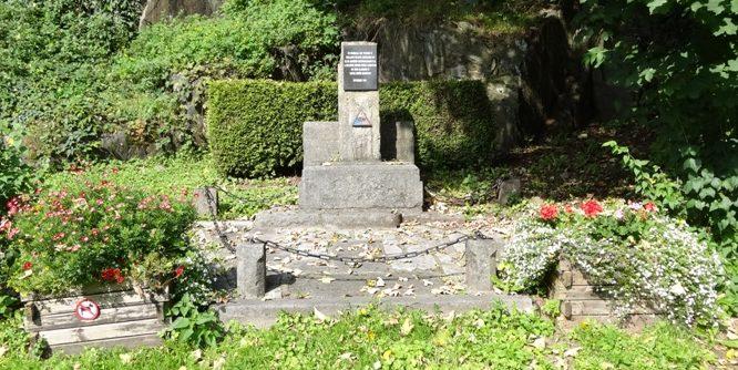 г. Лимбург. Памятник американским танкистам, освобождавшим город в 1944 г.