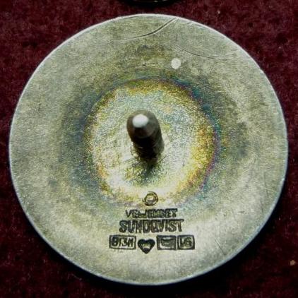 Аверс и реверс знака членов наблюдательного совета Шюцкора.