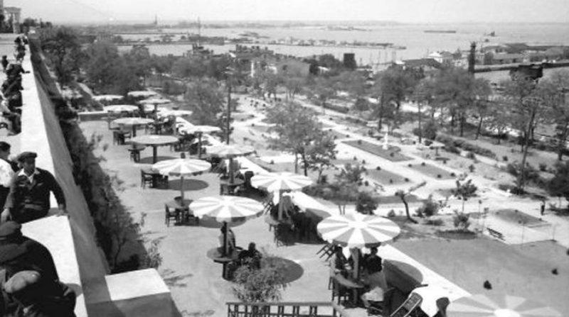 Приморский бульвар. Сентябрь 1942 г.