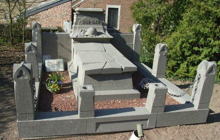 Муниципалитет Лимонт (Limont). Военный мемориал 1940-1945 годов.