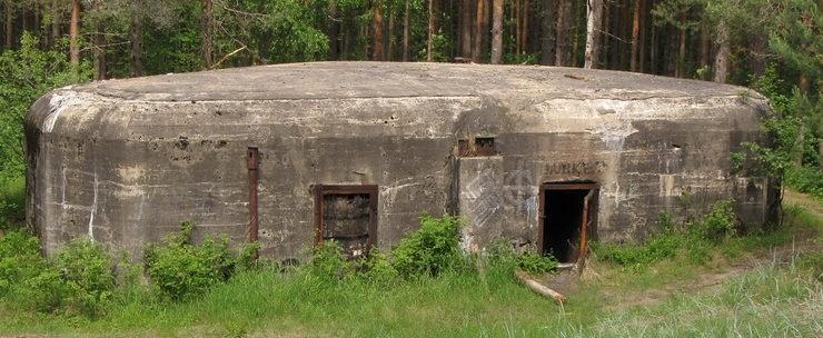 ДОТ № 119, КаУР. г. Сестрорецк, на территории санатория «Дюны».