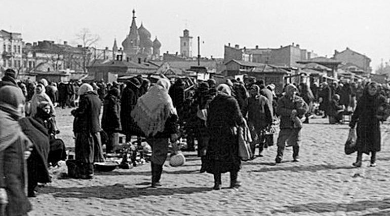 Рынок «Привоз». 1942 г.
