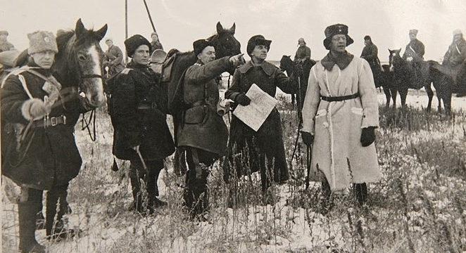 Казаки в степях Украины. 1943 г.