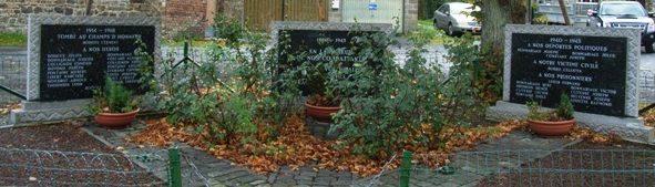 Муниципалитет Lorce. Военный мемориал обеих войн.