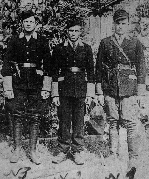 Полицаи города Несвиж. 1943 г.