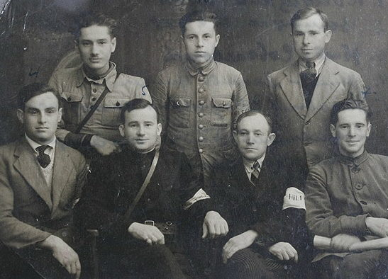Белорусские полицаи. 1943 г.