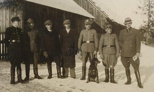 Украинские полицаи. 1943 г.