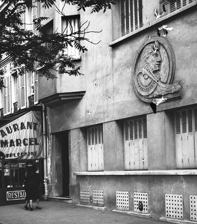 «Сфинкс» - офицерский люкс бордель Парижа. 1942 г.