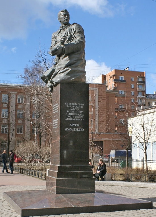 Памятник Герою Советского Союза Мусе Джалилю.