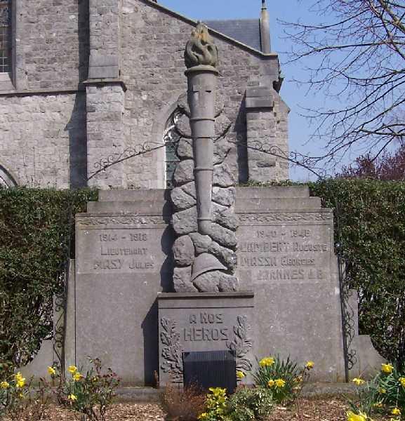 Муниципалитет Darion. Военный мемориал обеих войн.