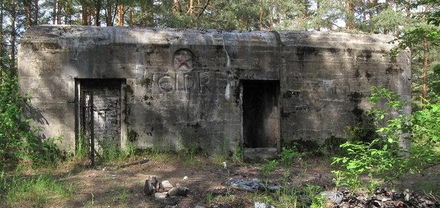 ДОТ №123, КаУР. г. Сестрорецк, северо-восточная граница Сестрорецкого воинского кладбища.
