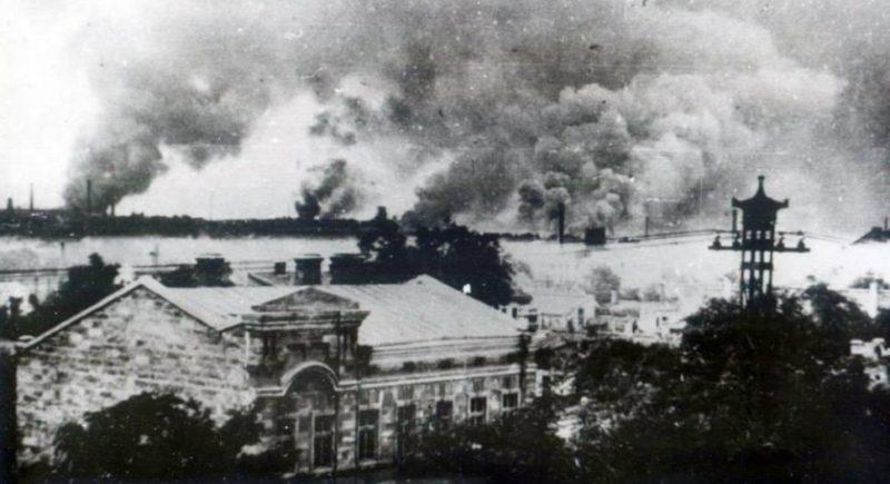 Бои за город. 4 Апреля 1944 г.