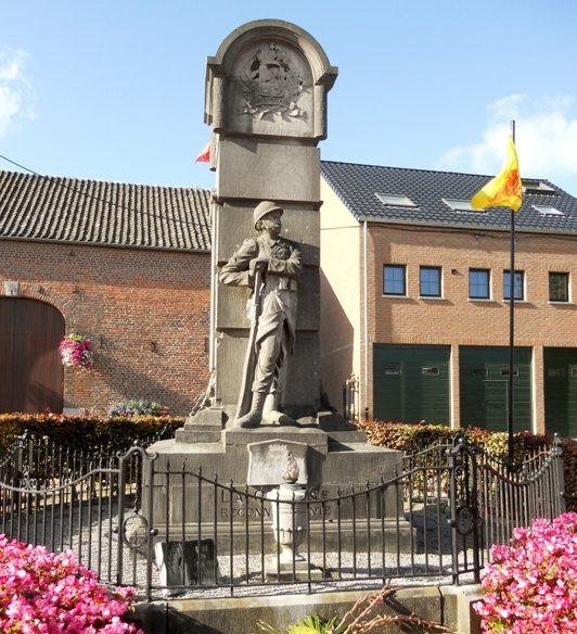 Муниципалитет Mortier. Памятник жертвам и бойцам обеих войн.