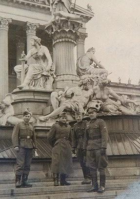 Хиви в отпуске в Вене. 1943 г.