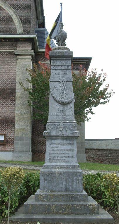 Муниципалитет Эбен. Памятник погибшим воинам и жертвам обеих войн.