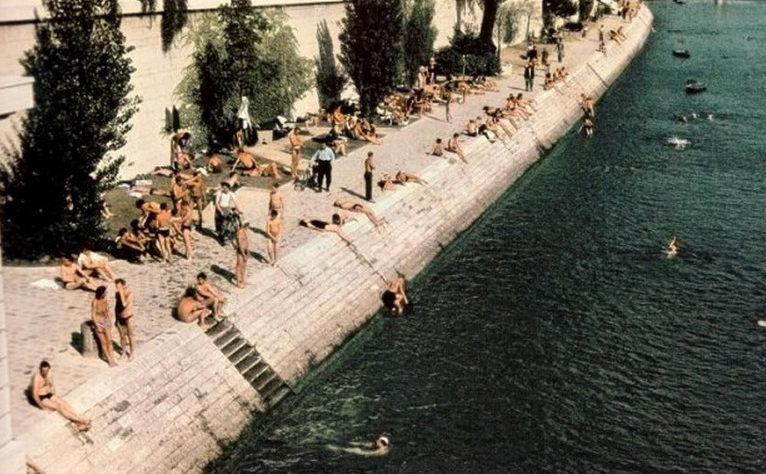 Жаркий день, набережная Сены. 1943 г.