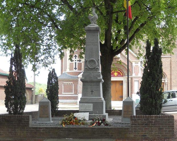 Муниципалитет Эбен-Эмаэль. Памятник погибшим и бойцам обеих войн.
