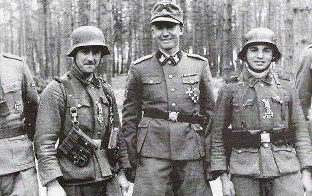 Вояки дивизии СС «Галиция» перед первым разгромом. Июнь 1944 г.