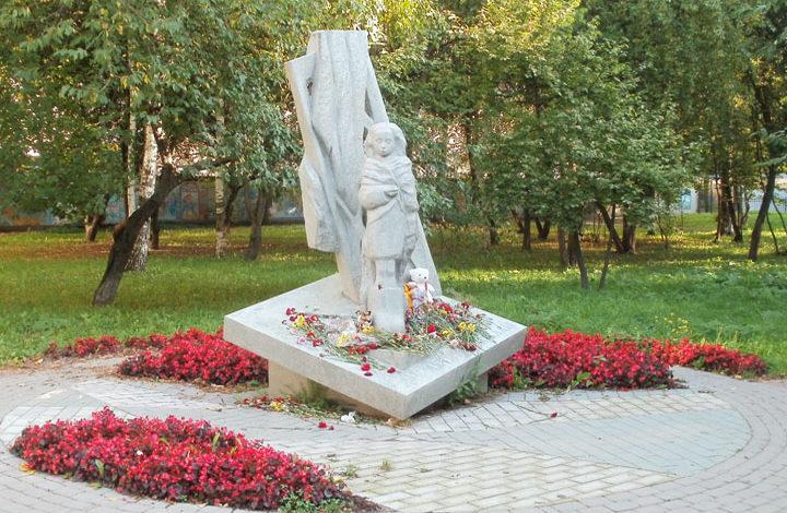 Памятник детям блокадного Ленинграда.