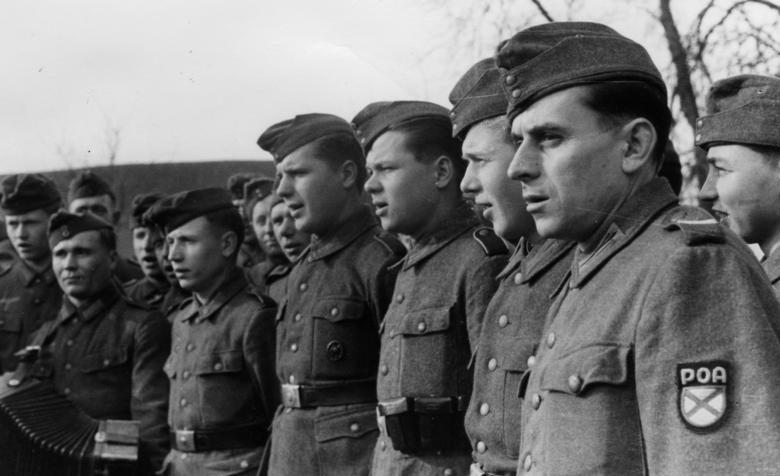 Добровольцы РОА. 1944 г.