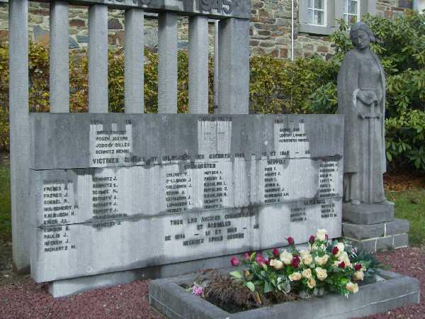 Муниципалитет Bено. Памятник погибшим воинам и жертвам обеих войн.