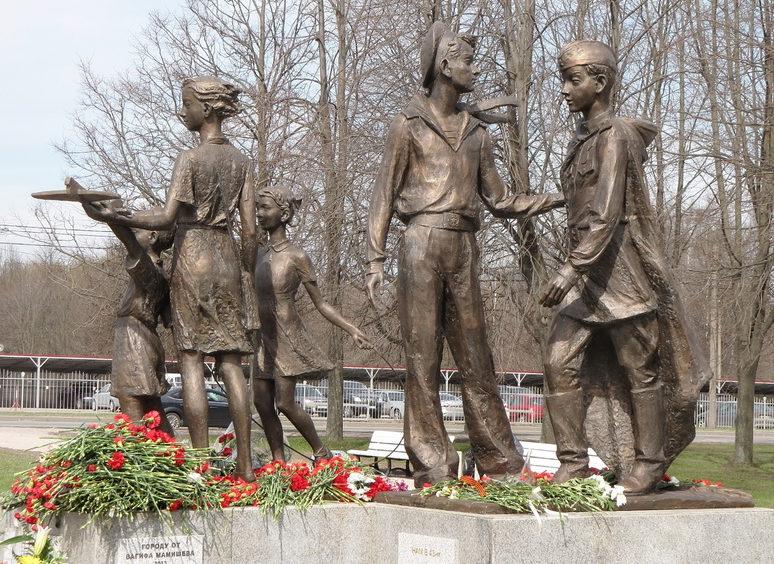 Памятник «Дети войны».